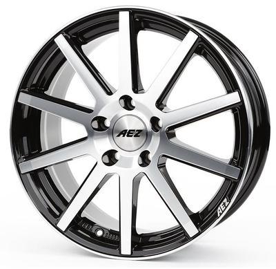 Купить Диски AEZ Straight black polished