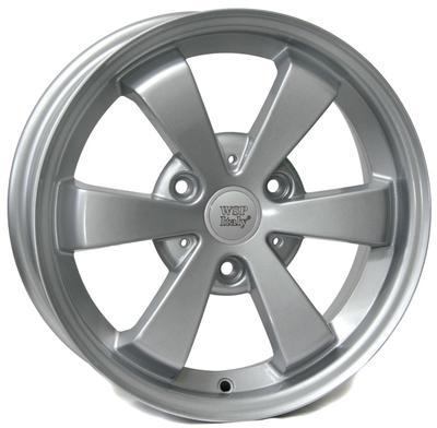 "Купить Диск WSP Italy W1507 Etna Hyper silver 15"" 5,0J 3x112 ET25 DIA57,1"