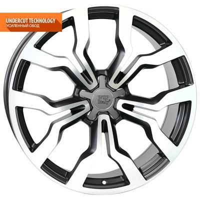"Купить Диск WSP Italy W565 Medea black polish 19"" 8,5J 5x112 ET43 DIA66,6"