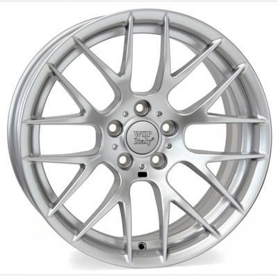 "Купить Диск WSP Italy W675 Basel silver 18"" 8,5J 5x120 ET37 DIA72,6"