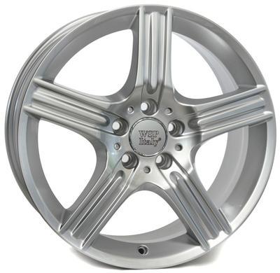 "Купить Диск WSP Italy W763 Dione silver 18"" 8,5J 5x112 ET48 DIA66,6"