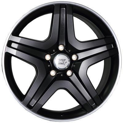 "Купить Диск WSP Italy W775 Miyagi black polished 20"" 9,5J 5x130 ET50 DIA84,1"