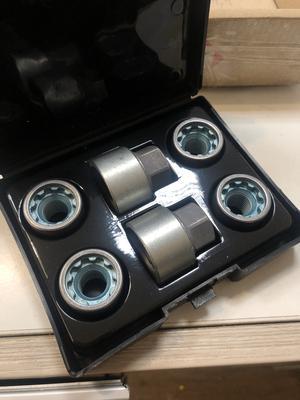 Купить Секретки Farad DS/D-1CH Гайка 14x1,5 25мм. Конус - Ключ 22 - Вращающееся кольцо