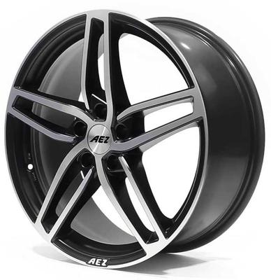 Купить Диски AEZ Genua matt black polished