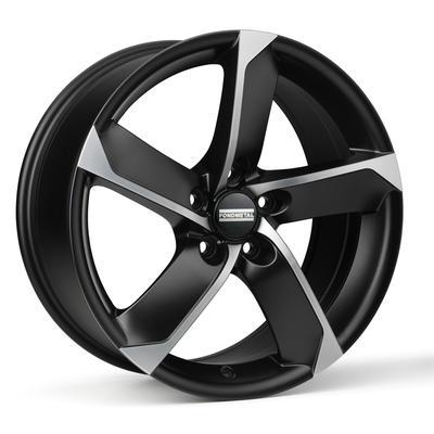 "Купить Диск Fondmetal 7900 matt black polished 16"" 7,0J 5x120 ET42 DIA72,6"