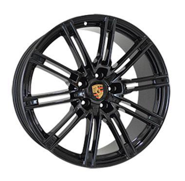 "Купить Диск Replica Porsche (PR045) black 22"" 10,0J 5x130 ET50 DIA71,6"