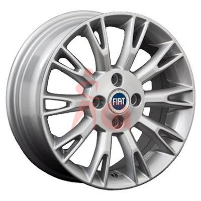 "Купить Диск Replica Fiat (FT2) silver 15"" 6,0J 4x100 ET45 DIA56,6"