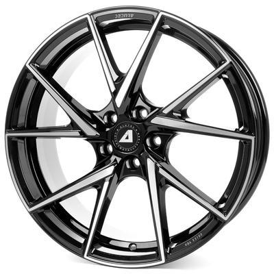 Купить Диски Alutec ADX.01 Black Front Polish