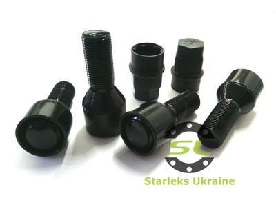 Купить Секретки Starleks 377110 X BC Болт 14*1,25 28мм. Конус-Вращающееся кольцо