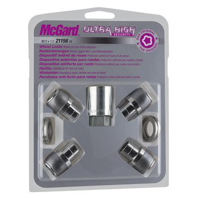 Купить Секретки McGard 21156SL Гайка 12x1.5 35мм. Прес Шайба - Ключ 21 - Вращающееся кольцо