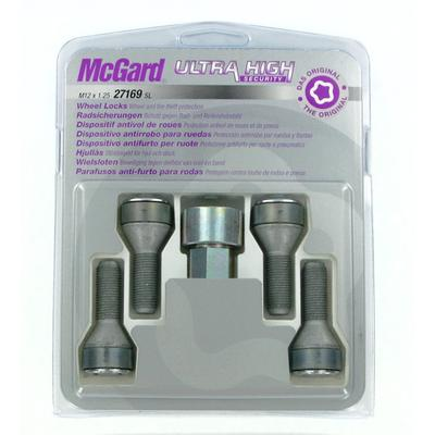 Купить Секретки McGard 27169SL Болт 12x1,25 30.5мм. Конус - Ключ 19 - Вращающееся кольцо