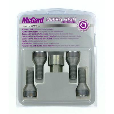 Купить Секретки McGard 27181SL Болт 14x1,5 29мм. Конус - Ключ 17 - Вращающееся кольцо