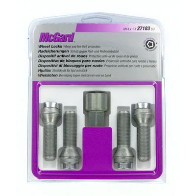Купить Секретки McGard 27183SU Болт 14x1,5 39мм. Конус - Ключ 17
