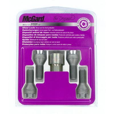 Купить Секретки McGard 27222SL Болт 14x1,5 28,5мм. Конус - Ключ 17 - Вращающееся кольцо