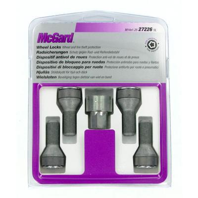 Купить Секретки McGard 27226SU Болт 14x1,25 27,3мм. Конус - Ключ 17