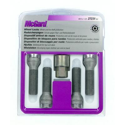 Купить Секретки McGard 27231SU Болт 14x1,25 47мм. Конус - Ключ 17