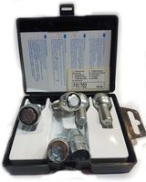 Купить Секретки Farad B54/D-1CH Болт 14x1,5 28мм. Сфера - Ключ 17 - Вращающееся кольцо