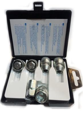 Купить Секретки Farad D14/D-2CH Гайка 12x1,25 34мм. Конус - Ключ 21 - Вращающееся кольцо