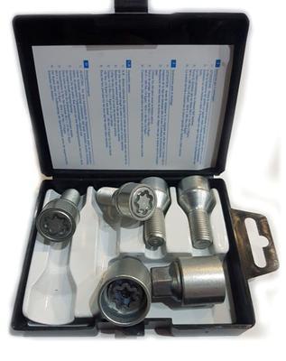 Купить Секретки Farad I5/E-2CH Болт 12x1,5 25мм. Конус - Ключ 17 - Вращающееся кольцо