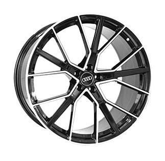 "Купить Диск Replica A970 Audi black 22"" 10,0J 5x112 ET21 DIA66,5"