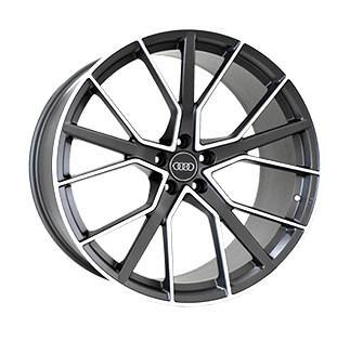 "Купить Диск Replica A970 Audi graphite 22"" 10,0J 5x112 ET21 DIA66,5"