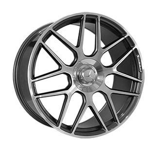"Купить Диск Replica MR957 Mercedes gun metal polished 22"" 10,0J 5x130 ET36 DIA84,1"