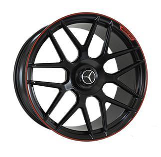"Купить Диск Replica MR957 Mercedes black 22"" 10,0J 5x130 ET36 DIA84,1"