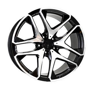 "Купить Диск Replica MR993 Mercedes Glossy black polished 21"" 10,0J 5x130 ET33 DIA84,1"